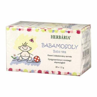 HERBÁRIA BABAMOSOLY BABA TEA FILTERES - 20 FILTER