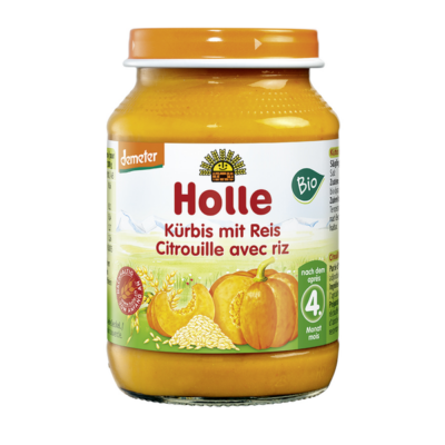 HOLLE BIO BÉBIÉTEL SÜTŐTÖK-RIZZSEL - 190 G