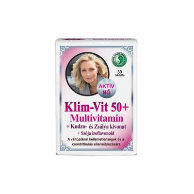 DR.CHEN KLIM-VIT 50+ MULTIVITAMIN TABLETTA - 30 DB