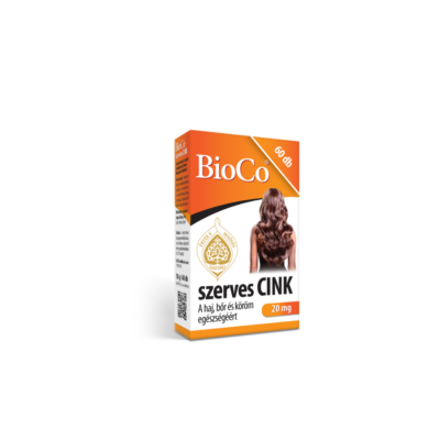 BIOCO SZERVES CINK TABLETTA - 60 DB