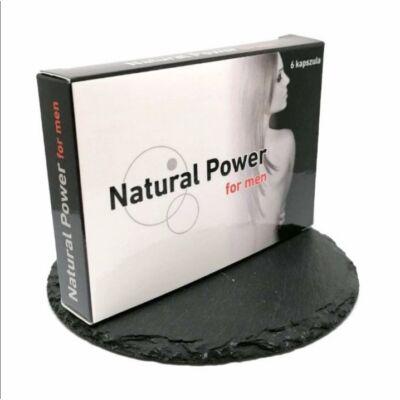 NATURAL POWER FOR MEN - 6 DB