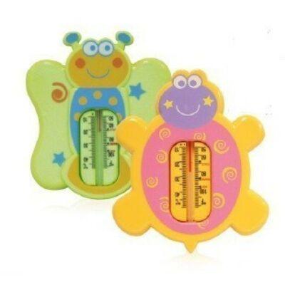 Baby Care vízhőmérő - teknos - pillangó [2895]
