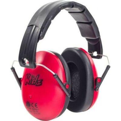 Edz Kidz - gyerek hallásvédo fültok - piros