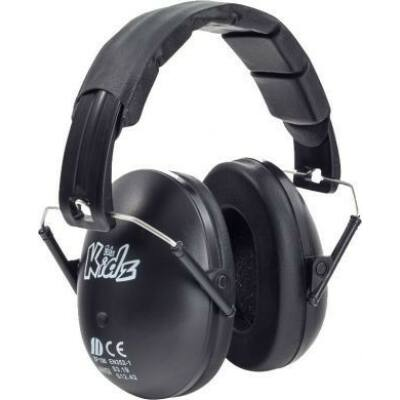 Edz Kidz - gyerek hallásvédo fültok - fekete