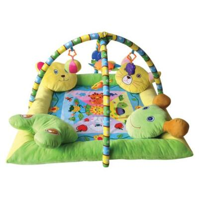 Lorelli Toys játszószőnyeg - With 4 pillow - 4 párnás peremmel