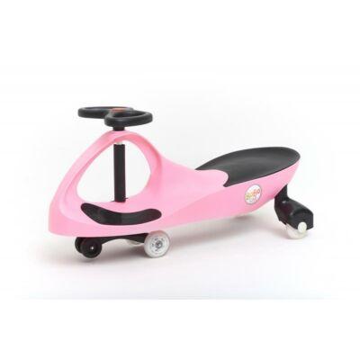 Bobocar - pink világító kerékkel