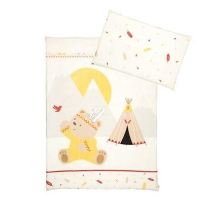 Albero Mio dupla rétegű takaró + párna - K072 Indian Girl - Indián macilány