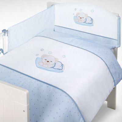Albero Mio 5 részes ágynemű - H106 Sleeping Bear kék