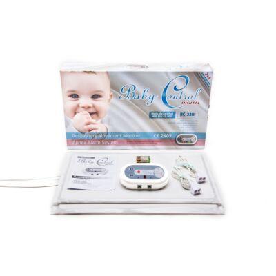 Baby Control ikerbabás légzésfigyelő BC220i
